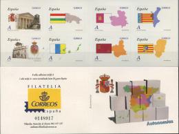 Ref. 239924 * NEW *  - SPAIN . 2010. SELF GOVERNMENTS. AUTONOMIAS - 1931-Aujourd'hui: II. République - ....Juan Carlos I