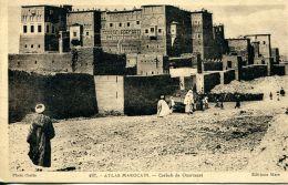 N°59352 -cpa Atlas Marocain- Casbah De Ouarzazat- - Unclassified