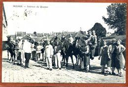 CPA  MEAUX Intérieur Du Quartier    Joli Plan   1908   Bon état - Casernas