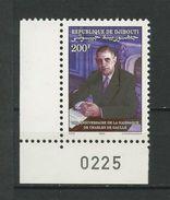 DJIBOUTI 1990 N° 670 ** Neuf  MNH  Superbe Cote 4.45 €  Célébrités DE GAULLE - Djibouti (1977-...)