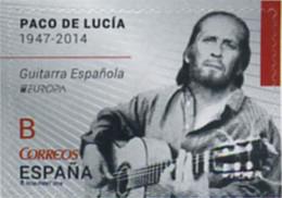 Ref. 317891 * NEW *  - SPAIN . 2014. EUROPA CEPT. GUITARRA ESPAÑOLA. PACO DE LUCÍA - 2011-... Neufs