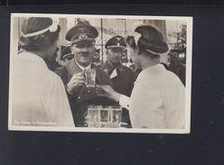 Dt. Reich AK Hitler In Franzensbad Zeppelin 1938 - Historische Persönlichkeiten