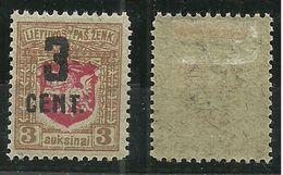 LITAUEN Lithuania 1922 Michel 152 * RRR - Litauen