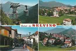 CARTOLINA - POSTCARD - BERGAMO - SALUTI DA SELVINO - Bergamo
