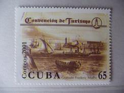 """Cuba 2001 """" Convention De Tourisme""""  1 V   N° Y&T : 3943 - Phares"""