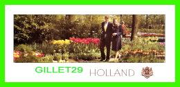 FAMILLES ROYALES - Z. K. H. PRINS WILLEM ALEXANDER EN MAXIMA ZORREGUITA  - DIMENSION 8.5 X 20 Cm - - Royal Families