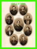 CÉLÉBRITÉS - THE CONSPIRATORS BY A. H. RITCHIE, 1865 - 1993 THE AMERICAN SCENE - DIMENSION 13 X 18 Cm  - - Personnages Historiques