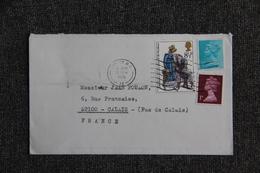 Timbre Sur Lettre De LONDRES à CALAIS . - Covers & Documents