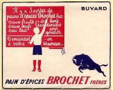 Buvard Brochet Frères, Pain D'épices. - Gingerbread