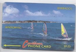 BARBADOS - WINDSURFING - 10CBDB - Barbades