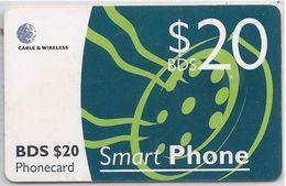 BARBADOS - SMART PHONE 20 - CHIP RED - Barbados