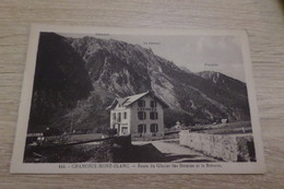CARTE POSTALE CHAMONIX MONT BLANC ROUTE DU GLACIER ET LE BREVENT - Chamonix-Mont-Blanc