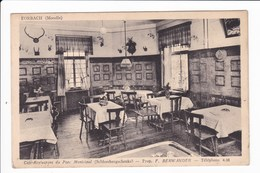 FORBACH - Café-Restaurent Du Parc Municipal - Prop. F. BERWANGER - Téléphone 4.36 - Forbach