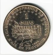 1 Euro Des Villes Temporaire -  Aix En Provence 1998 - Euros Of The Cities