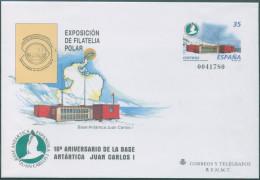 Ref. 297494 * NEW *  - SPAIN . 1998. 10th ANNIVERSARY OF JUAN CARLOS I ANTARCTIC BASE. 10 ANIVERSARIO DE LA BASE ANTARTI - 1931-Today: 2nd Rep - ... Juan Carlos I