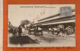 CPA  ASIE SINGAPOUR  MARCHE COUVERT   Market Hall (Closed  Market)   1929  NOV  2017 624 - Singapur