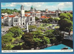 SINGAPORE EMPRESS PLACE 1977 - Singapore