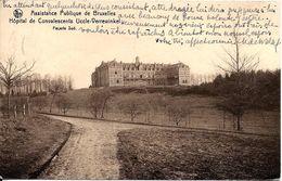 BRUXELLES (1180) : Façade Sud De L'Hôpital De Convalescents De L'Assistance Publique De Bruxelles, à Verrewinkel. CPA. - Santé, Hôpitaux