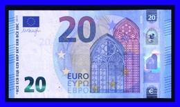 "20 EURO ""NA"" AUSTRIA DRAGHI  N005 E4 SEE SCAN!!!!!!!!!! - EURO"