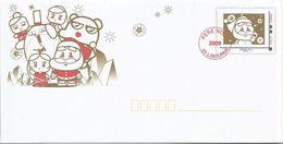 """PRET A POSTER - PAP """" Père Noel 2009 """" - Entiers Postaux"""