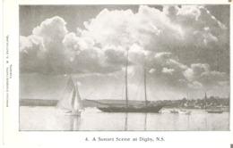 A Sunset Scene At Digby, Nova Scoria - Nova Scotia