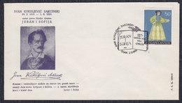 Yugoslavia Croatia 1964 Writer Ivan Kukuljevic, Cover - Briefe U. Dokumente