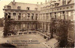 BRUXELLES (1180) : Galeries De Cure De L'Hôpital De Convalescents De L'Assistance Publique De Bruxelles, à Verrewinkel. - Santé, Hôpitaux