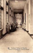 BRUXELLES (1180) : Promenoir Animé De L'Hôpital De Convalescents De L'Assistance Publique De Bruxelles, à Verrewinkel. - Santé, Hôpitaux