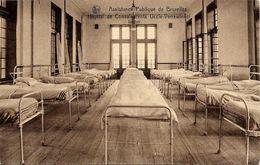 BRUXELLES (1180) : Dortoir De L'Hôpital De Convalescents De L'Assistance Publique De Bruxelles, à Verrewinkel. CPA. - Santé, Hôpitaux