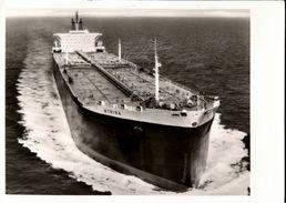 ! Ansichtskarte MTS Myrina, Shell Oil Tanker, Öltankschiff, Ship - Pétroliers