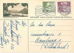 "PK 182  ""Heiligenschwendi Ob Thun""          1957 - Entiers Postaux"