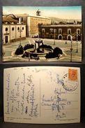 (FG.Q34) MANFREDONIA - PIAZZA DUOMO (FOGGIA) - VIAGGIATA - Manfredonia