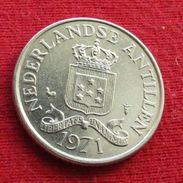 Netherlands Antilles 25 Cents 1971 KM# 11  Antillen Antilhas Antille Antillas - Netherland Antilles