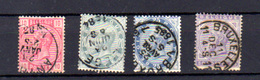 1883    Léopold II, 30 / 35 Ob, Cote 28,75 €, - 1883 Leopold II