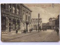 ALMELO Wierdensche Straat (Hotel 'van Ouds De Prins') - 1916 - Almelo