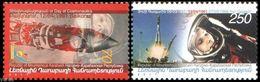 2011 - NAG. KARABAKH - 50mo ANN. DEL PRIMO VOLO UMANO NELLO SPAZIO / 50th ANN. OF THE FIRST HUMAN FLY IN THE SPACE. MNH - Briefmarken