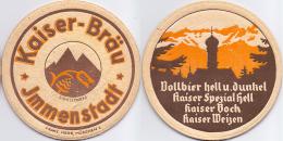 #D175-082 Viltje Kaiser Bräu Immenstadt - Sous-bocks