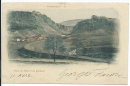 Pontarlier Forts De Joux Et Du Larmont Précurseur 1901 - Pontarlier