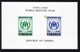LIBERIA BLOC N°   15 ** MNH Neuf Sans Charnière, Taché (D0745) - Liberia