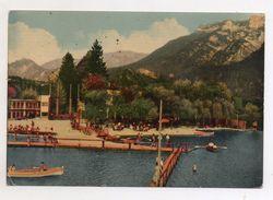 Levico Terme (Trento) - Il Lido E La Spiaggia - Viaggiata - (FDC6351) - Trento