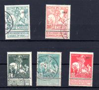 1911    Caritas, Type Montald Et Lemaire, Entre 93 Et 99, Cote 81 €, - 1910-1911 Caritas