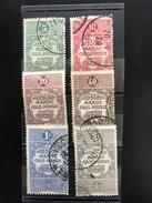 MAROC:colonie Française 1917  Colis Postaux N°1,2,3,5,8,9  Oblitéré - Other