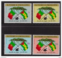 1012 Sao Tome 1974 Flag MNH - Sao Tome En Principe