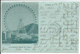PARIS, 75: La Grande Roue. Précurseur - France