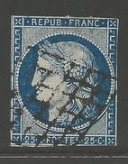 France #6a Usagé  --- Yvert #4a - 1849-1850 Ceres