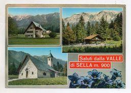 Sella Valsugana (Trento) - Saluti Dalla Valle Di Sella - Viaggiata Nel 1969 - (FDC6353) - Trento