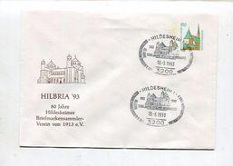 """Bundesrepublik Deutschland / 1993 / So-GSU """"HILBRIA"""" SSt. Hildesheim (11/229) - [7] República Federal"""