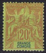 Grande Comore N° 7 * - Grande Comore (1897-1912)
