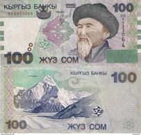 Kyrgyzstan - 100 Som 2002 UNC - Kirguistán