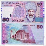 Kyrgyzstan - 50 Som 2002 UNC - Kirguistán